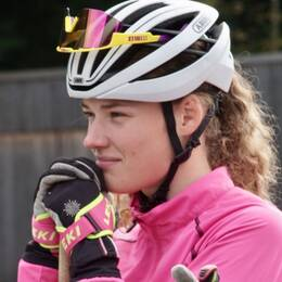 Hanna Öberg på träningsläger i Ruhpolding
