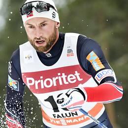 Norska skidstjärnan Petter Northug.