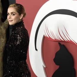 """Bild från premiären av netflix-serien """"The Challing Adventures of Sabrina"""""""