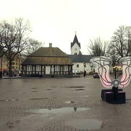 Polisen har en riktad insats mot droghandeln på Stortorget i Ängelholm.