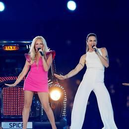 Spice Girls under stängningscermonin av OS 2012.