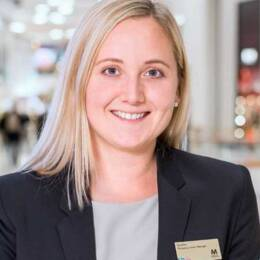 Sophie Karls, centrumchef Mall of Scandinavia