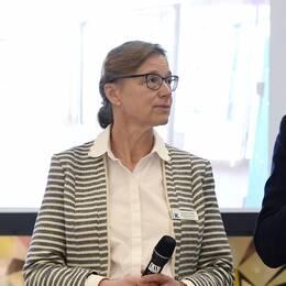 Annika Tibell, tf sjukhusdirektör på Karolinska.