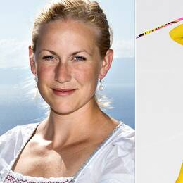 SVT:s expert Helena Ekholm och Hanna Öberg.