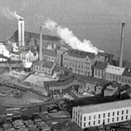 Kramfors sulfitmassafabrik 1936