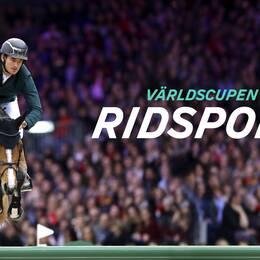 Irlands Bertram Allen med hästen Quiet Easy rider i Sweden Grand Prix under dag fyra av Sweden International Horse Show den 29 november 2015 i Stockholm