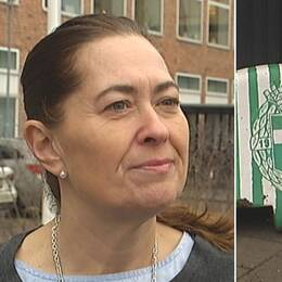 VSK Bandys ordförande Gisela Stockhaus