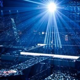 Eurovisionarenan B&W-hallerne.