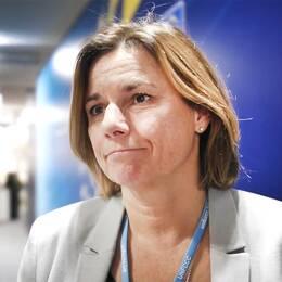 Klimatminister Isabella Lövin (MP)