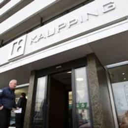 Kaupthing bank i Reykjavik.