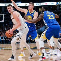 Jonas Jerebko och hans Golden State fick stopp på Denver.