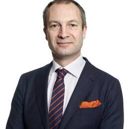 Erik Olsson, ordförande för Fastighetsmäklarförbundet.
