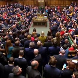 Christoffer Wendick och brittiska parlamentet