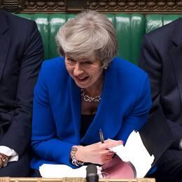 Theresa May i parlamentet