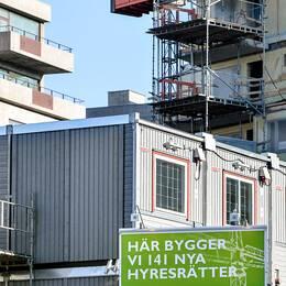 Bostadsområdet Norra Djurgårdsstaden i nordöstra Stockholm.