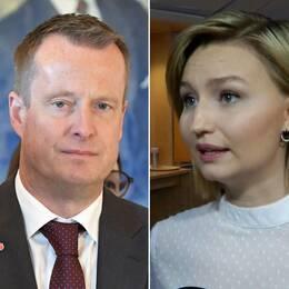 Jimmie Åkesson, Anders Ygeman och Ebba Busch Thor
