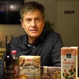 Björn Bernhardson förklarar hur du undviker att bli lurad i mataffären.