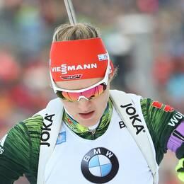 Denise Herrmann vann i Solider Hollow.
