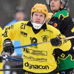 Åby/Tjuredas Ulf Einarsson under en match mot Frillesås.