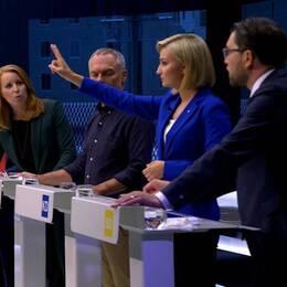 SVT fälls för avståndstagande i slutdebatt