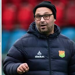 Gais tränare Bosko Orovic rasar mot att cupmatchen mot IFK Göteborg återupptas trots att lagets målvakt Marko Johansson missar matchen efter raketkaoset.