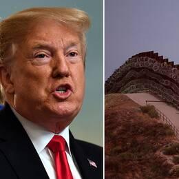 Trump får miljarder till murbygge
