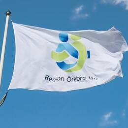 Flagga Region Örebro län