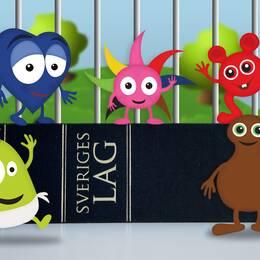 Frågan om vem som har skapat de tecknade figurerna i Babblarnas värld ska nu avgöras i Arbetsdomstolen.