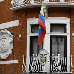 Ecuadors ambassad i London. Arkivbild.