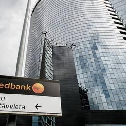 Swedbanks huvudkontor i Riga, Lettland. Arkivbild.