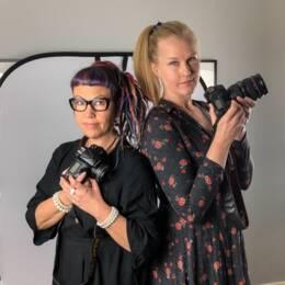 Yrkesfotograferna Katarina Hansson och Johanna Syrén har drabbats många gånger av bildstölder av privatpersoner på nätet.