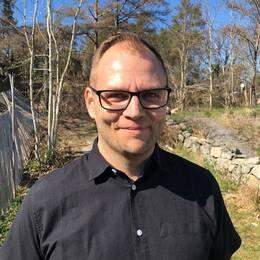 David Holmström, kyrkogårds- och fastighetschef i Kungsbacka församling.