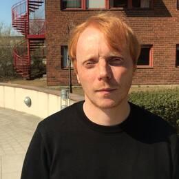 Marcus Sjöstedt, meterolog, SMHI