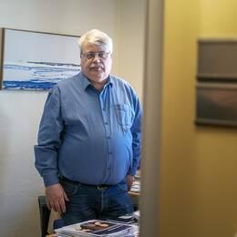 Sten Öberg, ordförande i Vision Gävle.