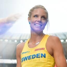 Diskuskastaren Daniel Ståhl och höjdhopparen Erika Kinsey är klara för VM i Doha.