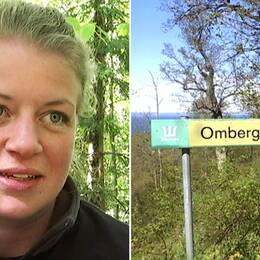 Louise Åkerstedt, miljö- och naturvårdsspecialist som jobbar för sveaskog och med ekopark omberg