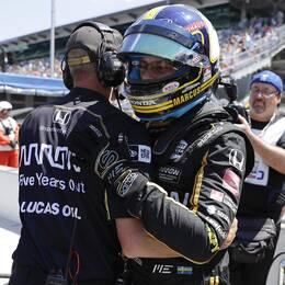 Marcus Ericsson, till höger, är vidare till Indy 500.