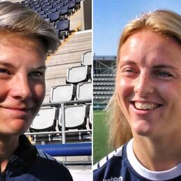 Lina Hurtig och Mimmi Larsson