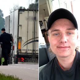 Skenande lastbil fick stopp tack vare 17-årige Kasper Svensson