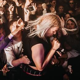Rapparna Snövit och Yung Mirko är två av de mest profilerade namnen i TV Feh.