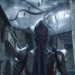 De bläckfiskliknande varelserna Mind flayers återkommer i spelsagan Baldur's gate tredje del.