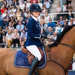 Malin Baryard-Johnsson och hennes Berlin Eagles slutade tvåa i lagtävlingen.
