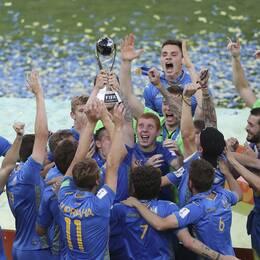 Ukraina är vinnare av U20-VM 2019.