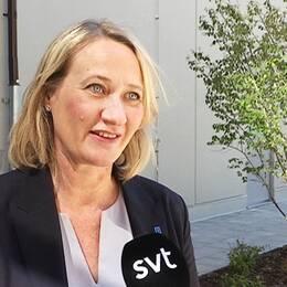 Liselotte Fager (KD), äldrenämndens ordförande i Linköping.