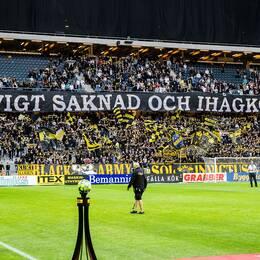 AIK hedrade Lennart Johansson i omstarten.