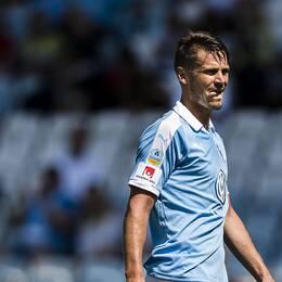 Ska lagkapten Markus Rosenberg göra hattrick innan matchen är över?