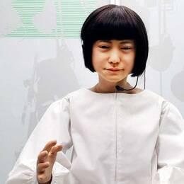Robot på ny utställning på Tekniska museet