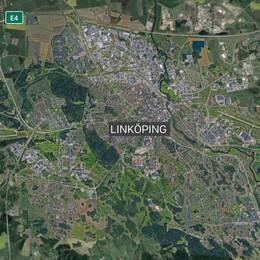 Satellitbild Linköping
