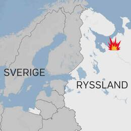 Den ryska testanläggningen i byn Nyonoksa ligger nära bostadshus – fem ingenjörer dog i explosionen