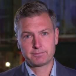 SVT:s korrespondent Christoffer Wendick på plats i London